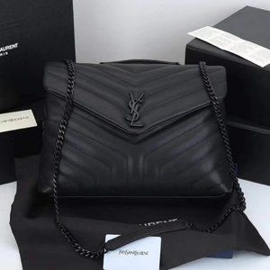 """NWT LOULOU TOY BAG IN MATELASSé \""""Y\"""" LEATHER"""